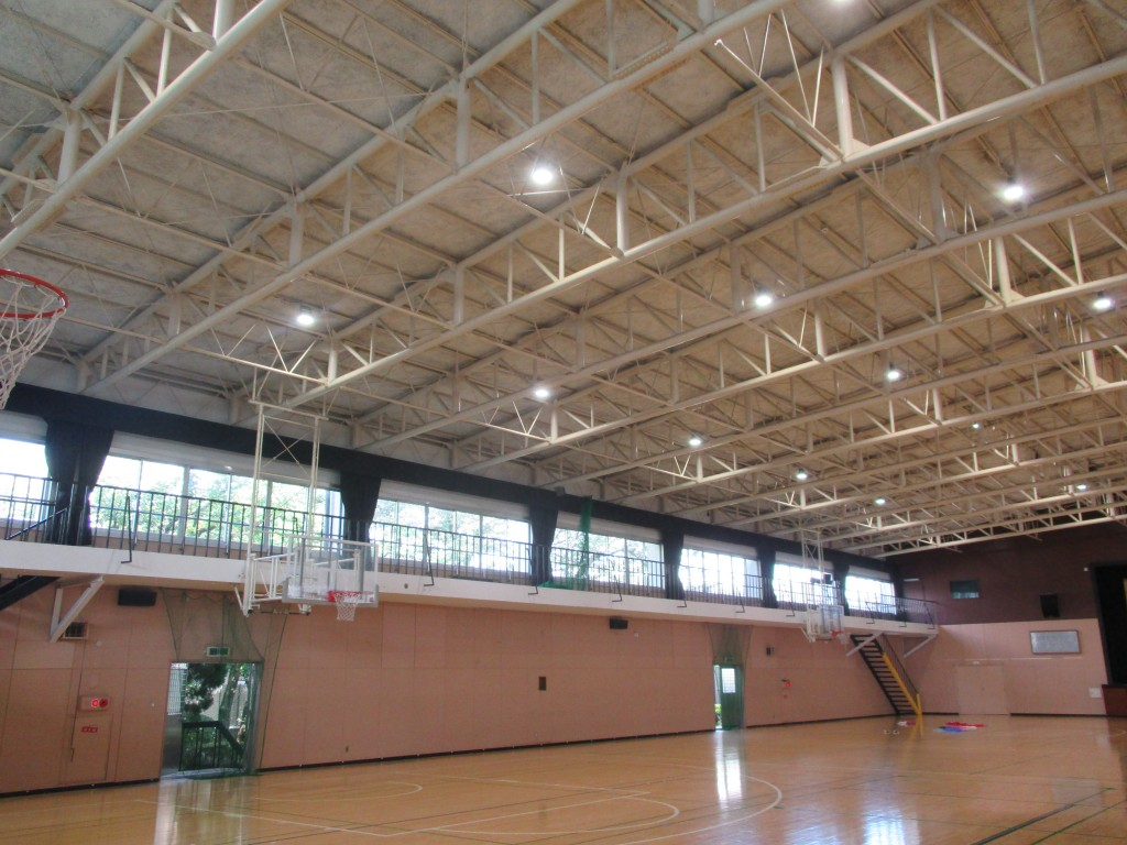 体育館LED