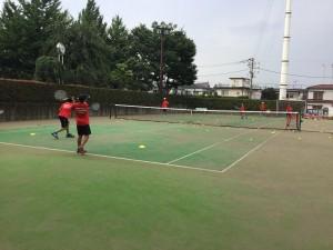 テニス練習風景 002