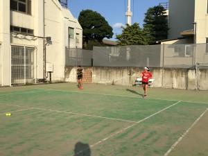 テニス練習風景 003