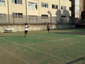 テニス練習風景 004