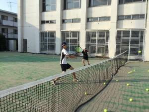 テニス練習風景 006